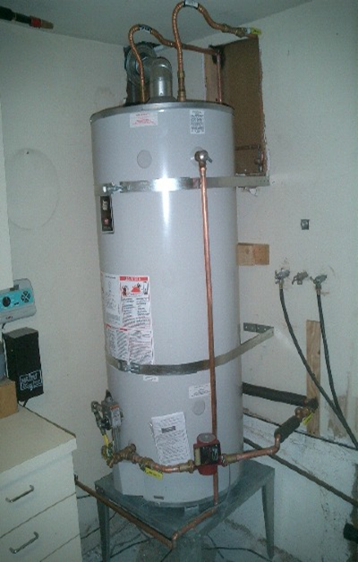 Water Heater Installation : Gas water heater how to install a